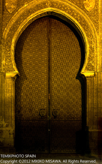 モスクの扉(アンダルシア地方・コルドバ)  1494