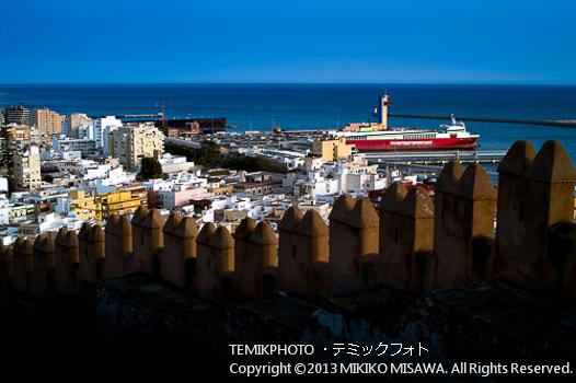 アルメリアの町と港 (アンダルシア地方・アルメリア)  1087