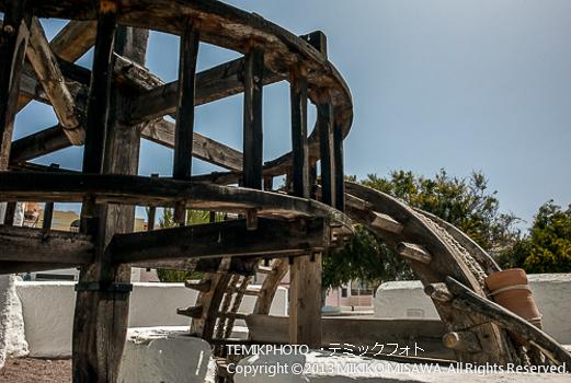 水揚げ水車の歯車 (アンダルシア地方・アルメリア)  1090