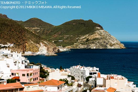 アルメリアの地中海沿岸風景:サン・ホセ村 (アンダルシア地方・アルメリア)  578