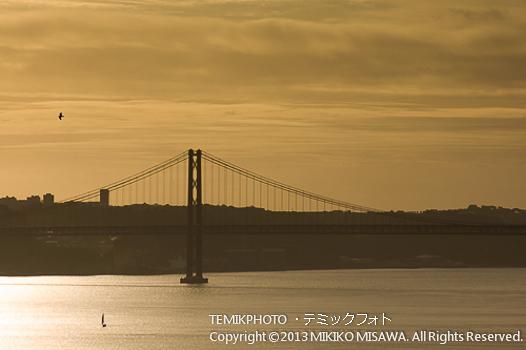 Ponte 25 de Abril Bridge 「リスボンの大橋 4月25日橋」(ポルトガル・リスボン)  1522