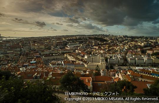 リスボン市街の眺め(ポルトガル・リスボン)  1527