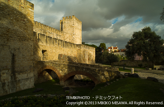 Castelo de Sâo Jorge 「サンジョルジュ城」  LISBON PORTUGAL  1530
