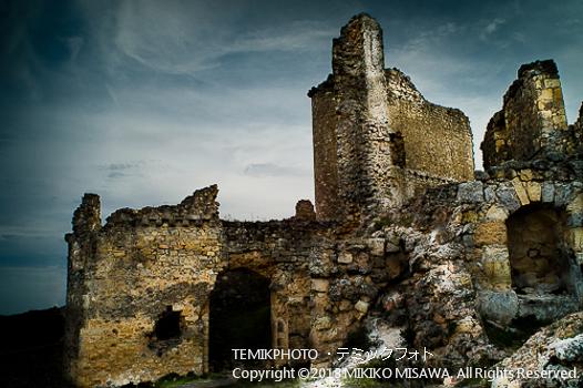 廃墟(カスティージャ・ラ・マンチャ地方・クエンカ)  106