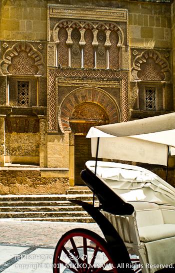 メスキータと馬車(アンダルシア地方・アルメリア)  1510