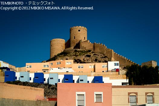 アルメリア城塞と漁師の町(アンダルシア地方・アルメリア)  81