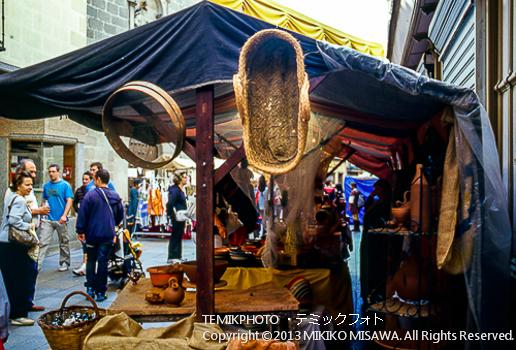 中世のお店「中世祭りから」(カスティージャ・イ・レオン地方アビラ)  1512