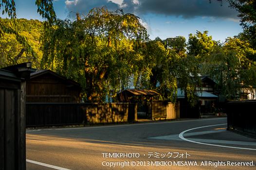 武家屋敷街(秋田・角館)  1237