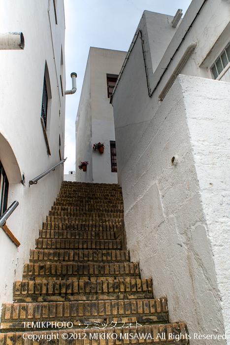 階段(アンダルシア地方・モハカール)  3867