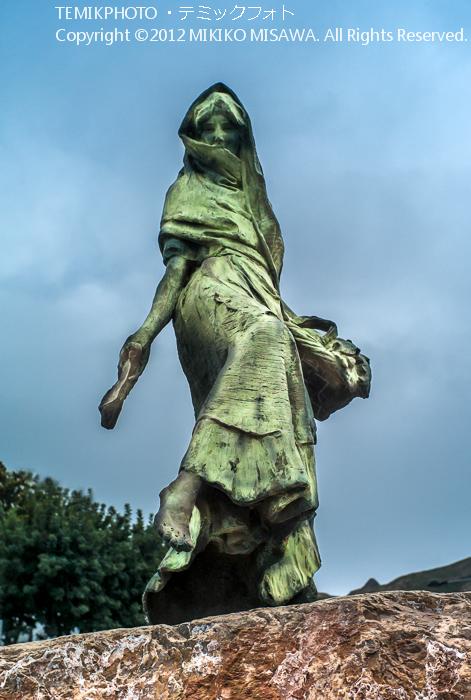 モハケーラの彫像(アンダルシア地方・モハカール)  3855