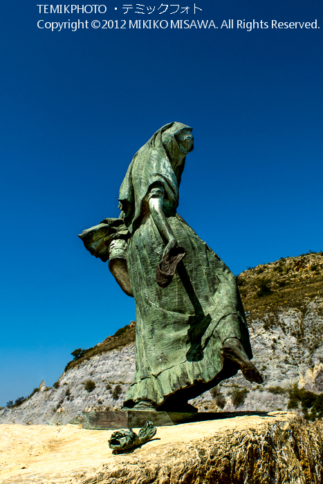 モハケーラの彫像(アンダルシア地方・モハカール)  3995