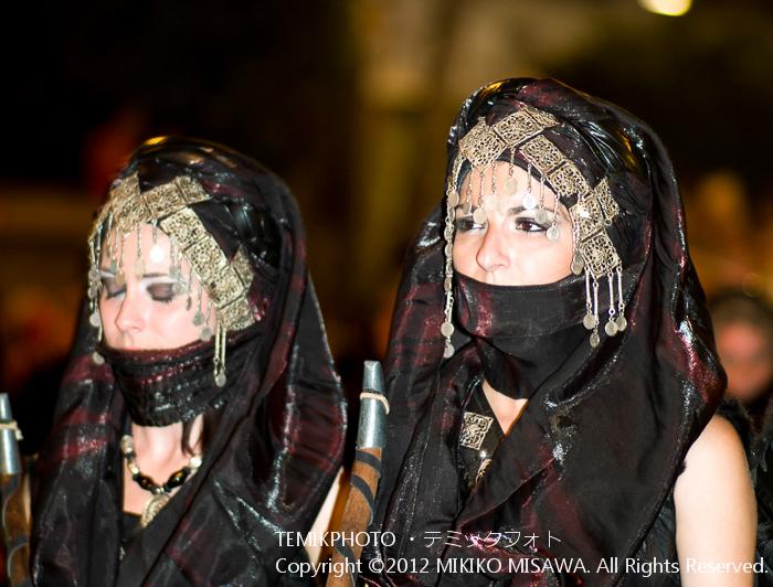 アラブの女性:中世祭りから(バレンシア地方・アリカンテ)  4244