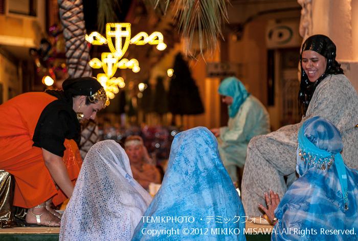 アラブの女性:中世祭りから(バレンシア地方・アリカンテ)  4245