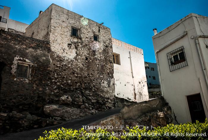 廃墟とリフォームをした住宅(アンダルシア地方・モハカール)  3988