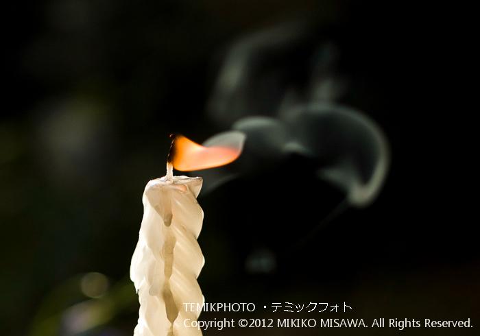 ろうそく(東京)  4579