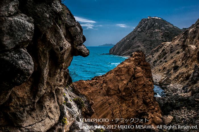 岩山と海(アンダルシア地方・アルメリア)  4366