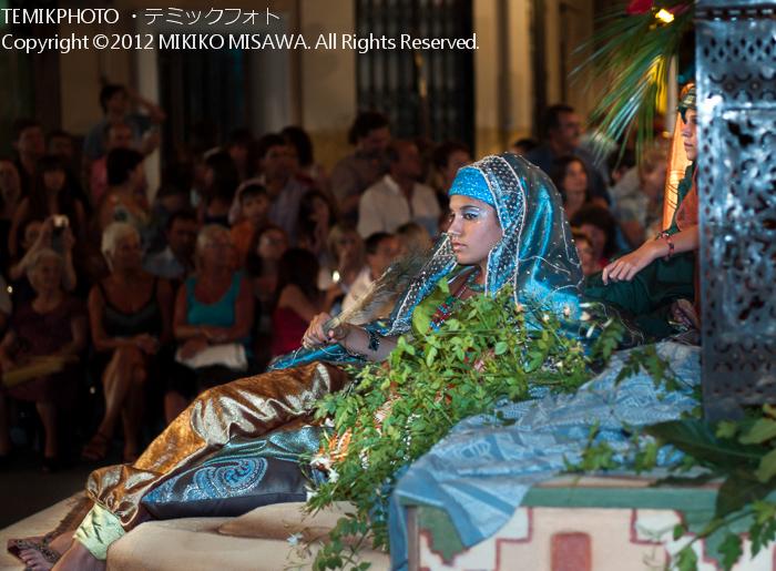 アラブの女性:中世祭りから(バレンシア地方・アリカンテ)  4246