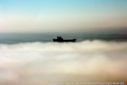 霧の中の船 (アンダルシア地方・アルメリア)  608