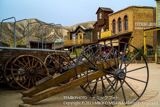 ミニハリウッド 映画村 タベルナス砂漠地帯(アンダルシア地方・アルメリア)  3784