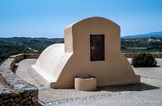 貯水槽(アルヒベ)・ソルバス村 (アンダルシア地方・アルメリア)  3602