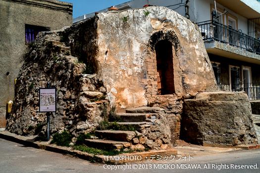 中世からの陶芸用の窯と設備・ソルバス村 (アンダルシア地方・アルメリア)  3532