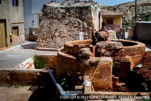 中世からの陶芸用の窯と設備・ソルバス村 (アンダルシア地方・アルメリア)  3549