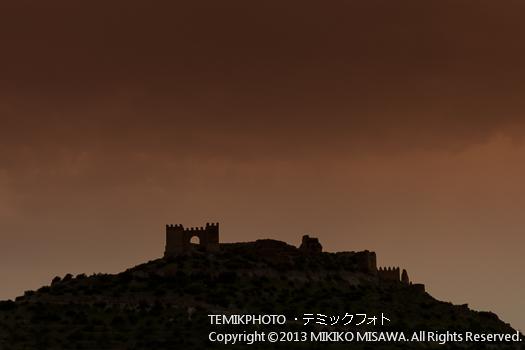 中世の城・タベルナス村 (アンダルシア地方・アルメリア)  3627