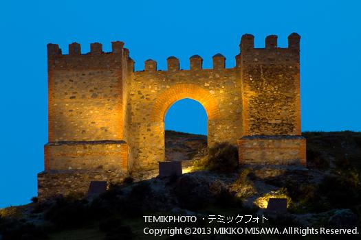 中世の城・タベルナス村 (アンダルシア地方・アルメリア)  3629