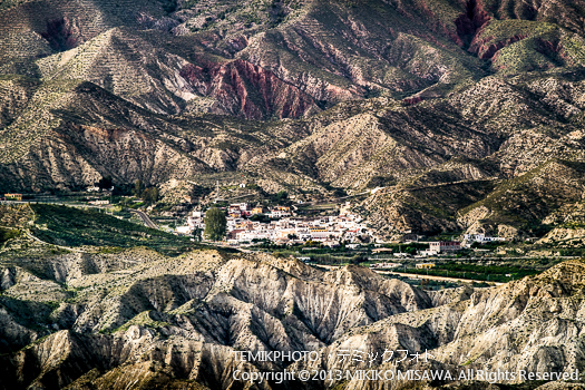 砂漠地帯・タベルナス (アンダルシア地方・アルメリア)  3625