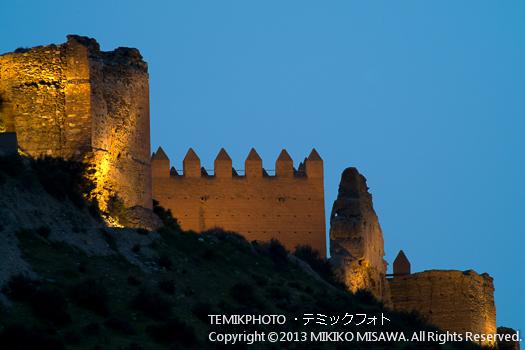 中世の城・タベルナス村 (アンダルシア地方・アルメリア)  3630