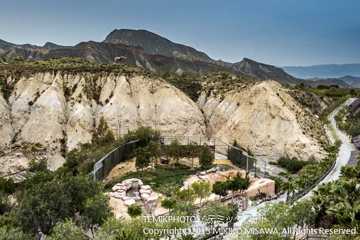 カルスト地形・ミニハリウッド 映画村 タベルナス砂漠地帯(アンダルシア地方・アルメリア)  3764