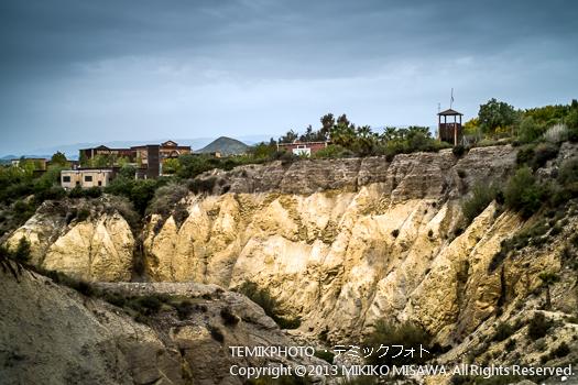 カルスト地形・ミニハリウッド 映画村 タベルナス砂漠地帯(アンダルシア地方・アルメリア)  3770