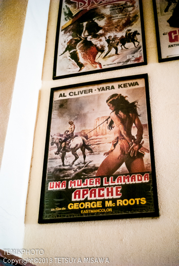 映画ポスター・ミニハリウッド 映画村 タベルナス砂漠地帯(アンダルシア地方・アルメリア)  3658