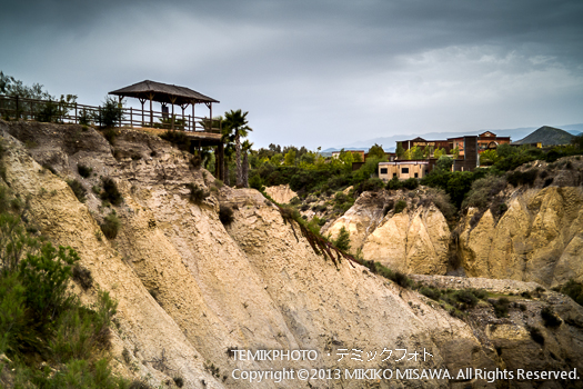 カルスト地形・ミニハリウッド 映画村 タベルナス砂漠地帯(アンダルシア地方・アルメリア)  3771