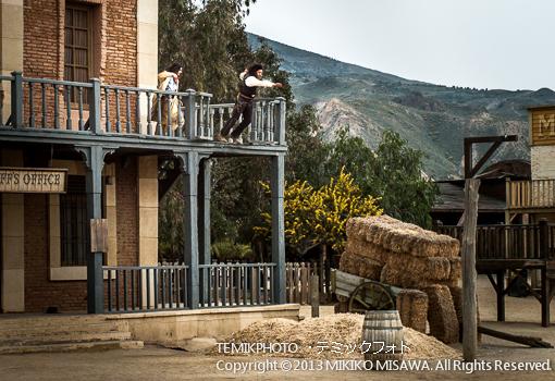 ミニハリウッド 映画村 タベルナス砂漠地帯(アンダルシア地方・アルメリア)  3654