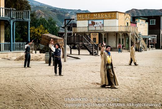 ミニハリウッド 映画村 タベルナス砂漠地帯(アンダルシア地方・アルメリア)  3651
