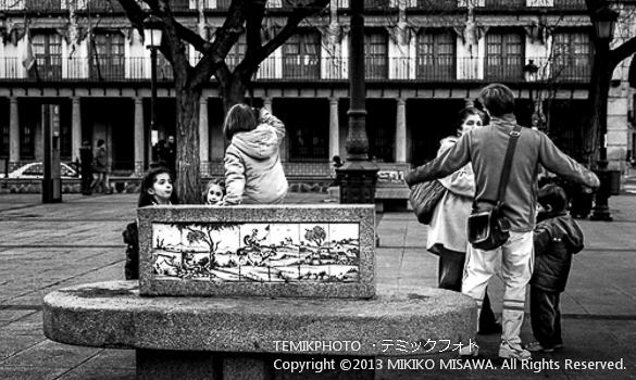 Blog-13-32 親子連れ トレド (カスティージャ・ラ・マンチャ地方・トレド)  6706