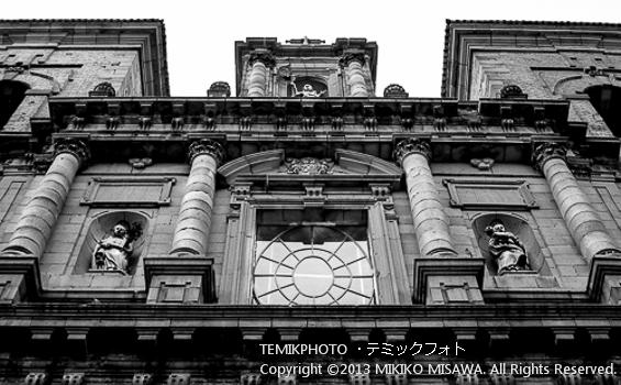 Blog-13-40 教会のファザード トレド (カスティージャ・ラ・マンチャ地方・トレド)  6024