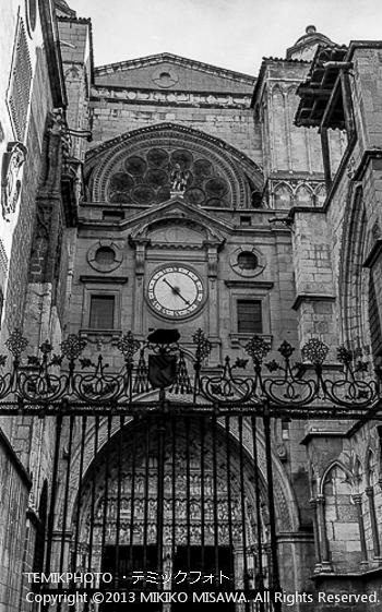Blog-13-41 針一本の時計 トレド (カスティージャ・ラ・マンチャ地方・トレド)  6985