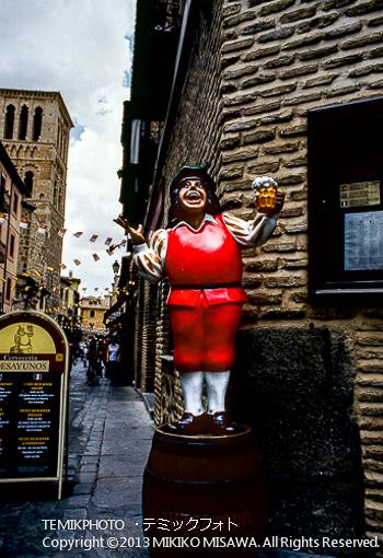 Blog-13-45 ビールメーカの人形 トレド (カスティージャ・ラ・マンチャ地方・トレド)  7116