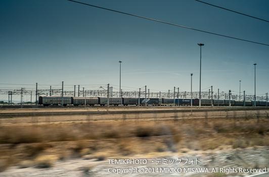 サラゴサの鉄道操作場 : 11150