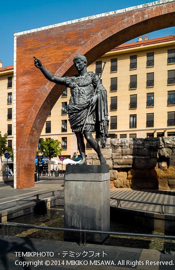 皇帝アウグストゥスの彫像 : 11132