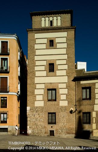 ルハーネスの塔 : ムデハル様式、15世紀初頭と言われる。 897