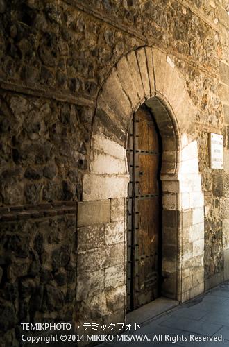 ルハーネスの塔。馬蹄形アーチの扉。 9595