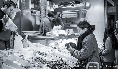 マドリード 冬の市場 15481