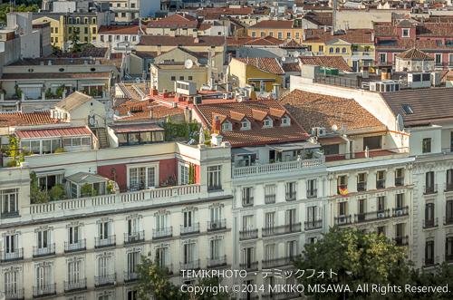シベーレス宮殿からの眺め 14348