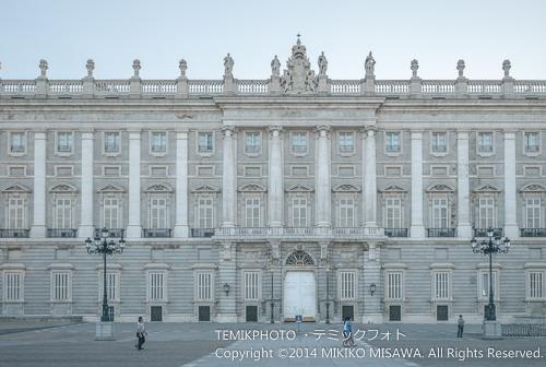 王宮 (オリエンテ広場側から) 14191