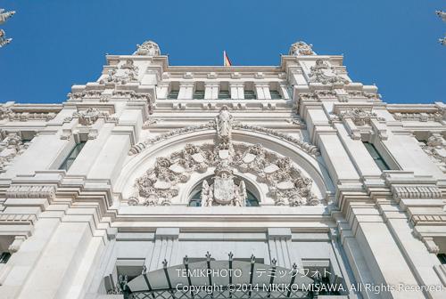 シベーレス宮殿入り口のファザード  15252