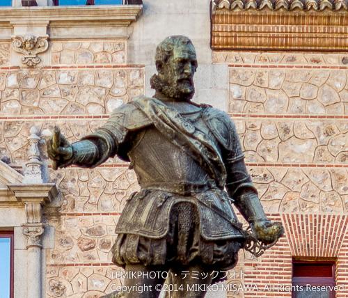 サンタ・クルス侯アルバロ・デ・バサン 立像  9597C