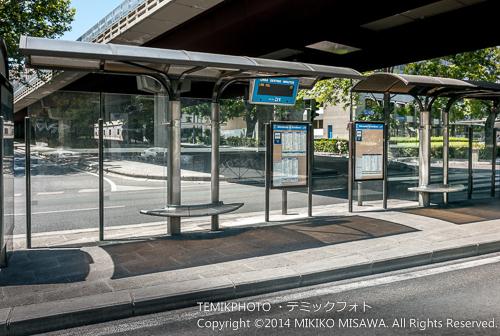 マドリード市内のバス停留所(イメージ) 14998